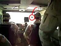 これは酷いイタズラ映像。軍用車両に手榴弾が投げ込まれたらこうなるwww