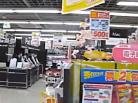 昨日の地震の動画。東日本大震災の余震とされるM7.3の地震(三陸沖)