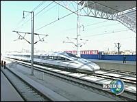 中国の高速鉄道「和諧号」がテスト走行で新幹線をぶっちぎる486.1km/hを達成