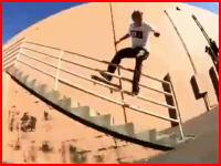股間強打、顔面打撲。スケートボードでアウチ!な痛い痛い動画の総集編