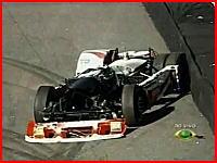 フォーミュラ・トラックでの危険な事故の映像。その大惨事っぷりがハンパないw