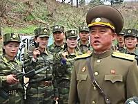 北朝鮮兵士「最高司令官同志、命令だけ下してくれ!」準備万端だよ動画