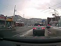 何もしていなくても交通事故の被害者になる事はあるというドライブレコーダー