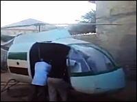 もしかして飛ばすつもりなの?ソマリア人技術者が作ったヘリコプターが凄い