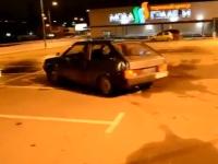 デパートの屋上駐車場でドリフトひゃっはーを撮影していたやつwwwww