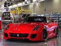 【欲しい】フェラーリすご過ぎワロタw「599 GTO」工場の風景と、街での試運転