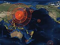 日本フルボッコすぎ泣いた(@_@;)2011世界の地震分布に驚愕したした動画