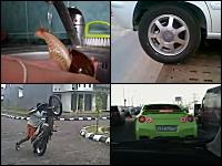 1000mg小ネタ集Part.21。パトカーと日産GT-Rのカーチェイス(ロシア)他