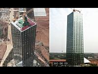 中国すごい。30階建てのビルディングをわずか15日間で完成させる。驚いた