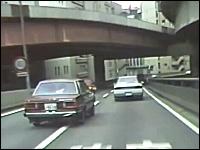 昔の首都高には信号があった。昭和60年頃撮影「首都高速都心環状線一周」