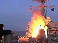 ガダフィ政権に打ち込まれまくるトマホークミサイル。オデッセイの夜明け作戦