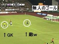 ゴールキーパーの退場と、代役(DF)の奮闘 Jリーグ京都×神戸