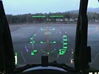 本物戦闘機の始動手順映像 緑のガイドってゲームだけじゃなかったんだ!?