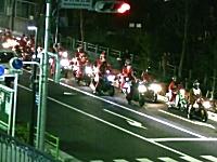 バイクサンタが300台!?2ちゃんバイク板のクリスマスツーリングが幸せww