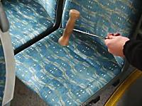 市バスの座席はこんなに汚い?衝撃の事実に視聴者困惑(@_@;)ホコリ凄い