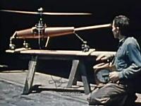 貴重映像 ヘリコプター開発の歴史。モデルタイプから初の民間ヘリコプター誕生
