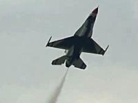 パイロット「戦闘機で遅乗りやったったwwwww」極限までゆっくり飛ぶF-16s