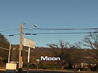 いつも月が見えている位置に太陽系の惑星を持ってくるとどう見えるのか?