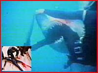 ダイバーが巨大鮫に左足を食いちぎられる衝撃映像