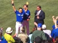 MLBで逆転サヨナラ安打を放った川崎(ブルージェイズ)のインタビューが海外で大うけ