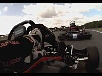 迫力のオンボード映像で見るガチのカートレース。マックス・フェルスタッペン