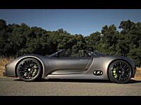 さすがポルシェ。エコカー(燃費33.3km/l)なのにカッコイイ!918スパイダー