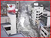 マックスバリュー塩釜店 を襲う津波の別角度の映像を発見しました。宮城県