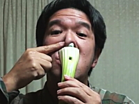 野菜で演奏する日本人のYouTubeが海外で話題に?ブロッコリーのオカリナ