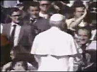 ヨハネ・パウロ2世 (ローマ教皇)暗殺未遂事件の映像 1981年5月13日