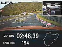 レクサス「ニュルで市販車最速タイムを叩き出したったwwwww」Lexus LFA