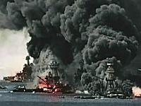 真珠湾攻撃から70年。カラー映像で見る戦争ビデオ。1941パール・ハーバー