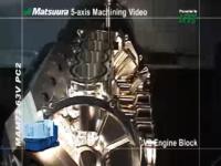 世界に誇る日本の技術 松浦機械製作所のエンジン削り出しマシンが凄い