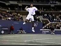 テニス神動画 ピート・サンプラスのスラムダンク・スマッシュショット