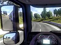 Euroトラック野郎シミュレーターのリアルさが凄い。Euro Truck Simulator 2