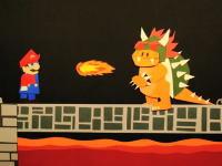 ペラペラ動画。YouTubeの紙が神でマリオを表現したゲーム動画が面白い。