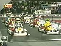 1999年F1ドライバーたちによるガチのカートレース シューマッハvsバリチェロ