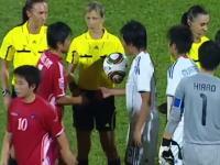 【サッカー】試合後に日本人の握手を露骨に拒否する北朝鮮の選手たち