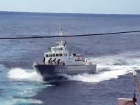 海上保安庁ワロタw 巡視船「いそなみPC217」の甲板でAKB48をやってみたw