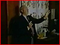 テレビ放送中に取材班の前で拳銃自殺したバド・ドワイヤー上院議員の映像
