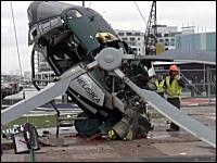 ニュージーランドのヘリコプター墜落事故の原因が良くわかる映像がキタヨー。