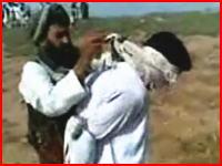 結婚を拒否した女性とその彼氏が石打の刑で処刑される。アフガニスタン