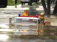 ワイルドすぎる運転で批判されているオーストラリアの消防車。問題の映像