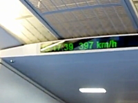 中国の高速鉄道速すぎワロタ。時速430キロで走る車内の映像。CRH380AL