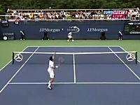 USオープンテニス「本番でそれやるか?www」という技アリなフェイント