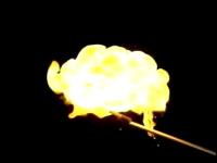 実験!実験!純水素と水素酸素混合気の燃焼実験映像だよー
