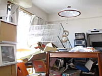 「マズイこれはっ!!」地震の瞬間を撮影した動画が信じられないレベル(@_@;)