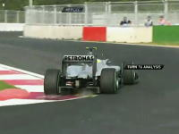 F1韓国GP早くもコースの一部が陥没した動画wwww大丈夫かこれwwww