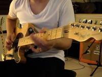 とてもダフト・パンクなギタリスト。映画トロン:レガシーのDerezzedをギターで