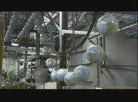 工場見学 地球儀が出来上がるまで