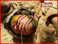 これが戦場だ。目の前の味方が被弾してしまう戦争動画 タリバンVSイギリス兵